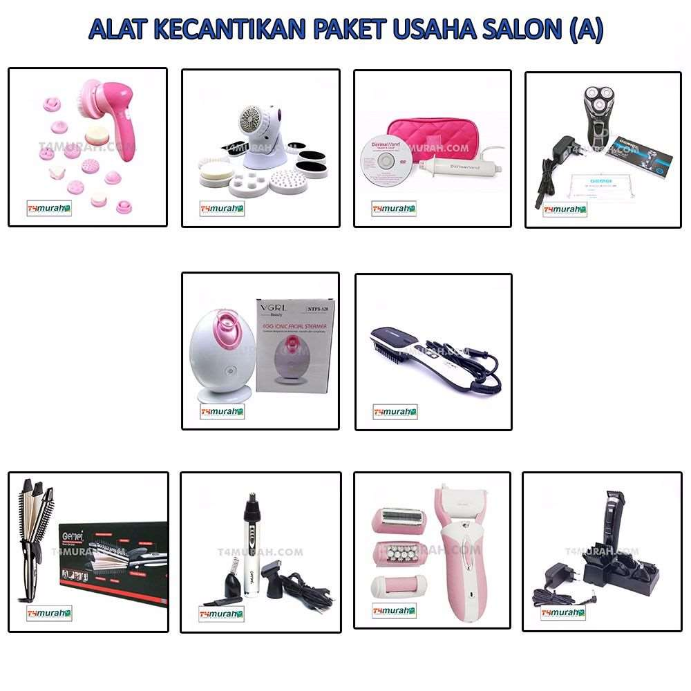 Paket Alat Kecantikan Untuk Usaha Salon (A)-1