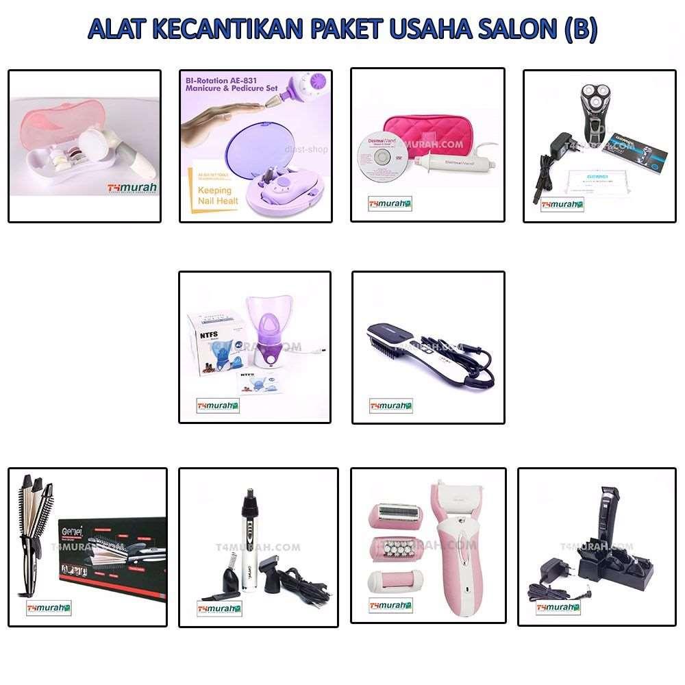 Paket Alat Kecantikan Untuk Usaha Salon (B)