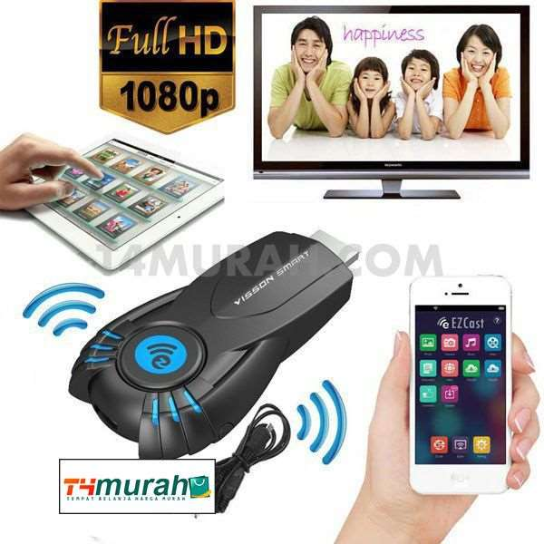 Ezcast Miracast V5ii - Dongle streaming ke TV/monitor-1