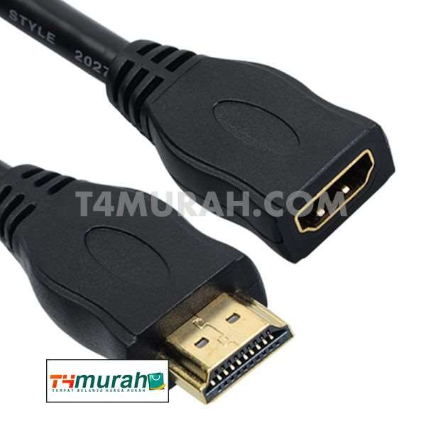 Paket Grosir 12Pcs Untuk Reseller HDMI Extender Cable Male To Female 0.5M-3